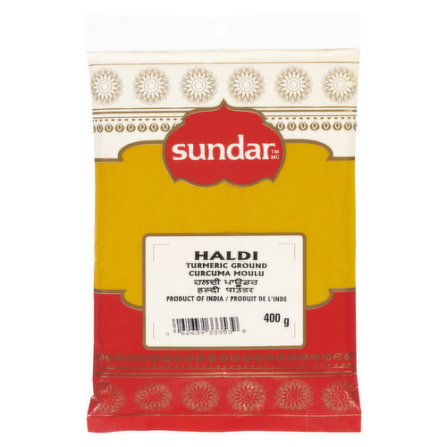 Made by Dry Grinding of Mature Turmeric Rhizomes (Underground Stems). Used in Almost all Indian Curries, this Spice has Almost no Calories (1 tablespoon = 24 calories) and Zero Cholesterol.