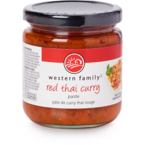 The perfect combination of red chilis, shallots, herbs, spices and sweet lemongrass. Blend with coconut milk for a tantalizing red curry sauce.