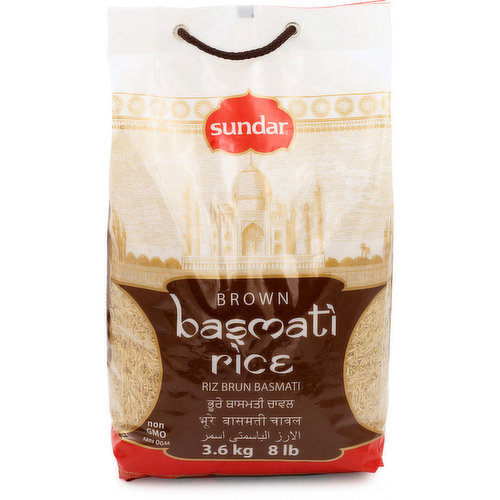 A fragrant, long-grain rice with a nutty flavour. Try using it for curries or pilafs.
