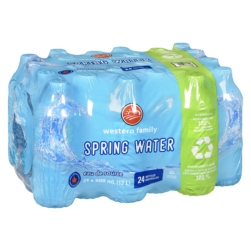 Great to take on the go. Ozonized. 24 x 500ml bottles. Plus applicable deposit & recycling fee.