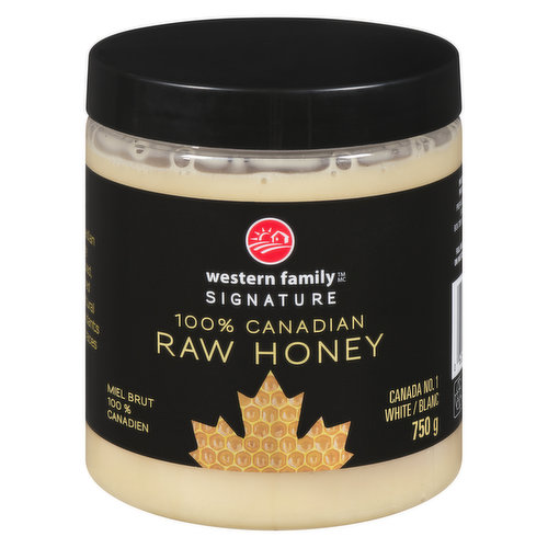 White 100% Canadian. Buttery in texture can be perfectly paired with the fresh, light flavours of fruit, lattes, & warm bread.