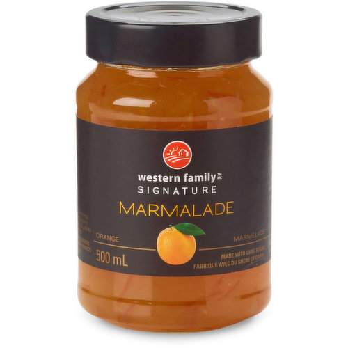 The essence of freshly picked oranges in this marmalade will have you daydreaming of walks through the Grove. Made with cane sugar. Product of Belgium.