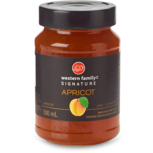 Bursting with exquisite aroma & flavor, our apricot jam shines as bright as the summer sun. Made with cane sugar. Product of Belgium.