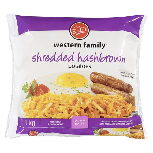 Great for breakfast or as a side dish. Keep frozen. Gluten & salt free. No artificial colors or flavors. Keep frozen.