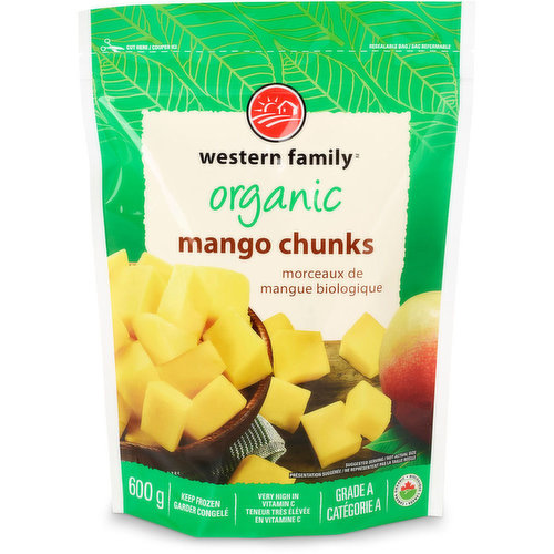 Very high in vitamin A, C & E. Full of iron & antioxidants. Grade A. Keep frozen.