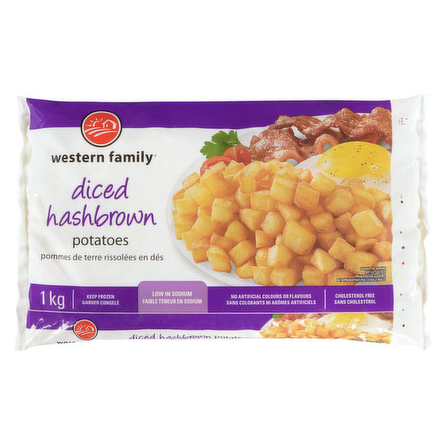 Makes a great side for any meal of the day! Low in sodium, no artificial colors or flavors. Cholesterol free.