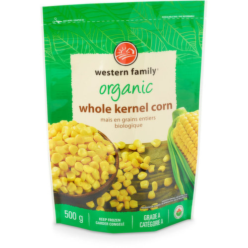 Great for adding in soups, stews, salads or as a side dish to any meal. Keep frozen.
