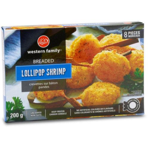 8 pieces of Ocean Wise shrimp. No artificial colors or flavors. Uncooked & keep frozen.