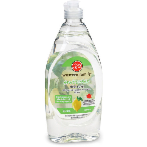 Easy on the hands, tough on grease! Biodegradable plant derived cleaning agents.