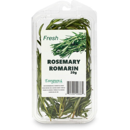 Add freshness to soups, stews, Shepard pie, grilled vegetables, baked goods & more! Wash before use.