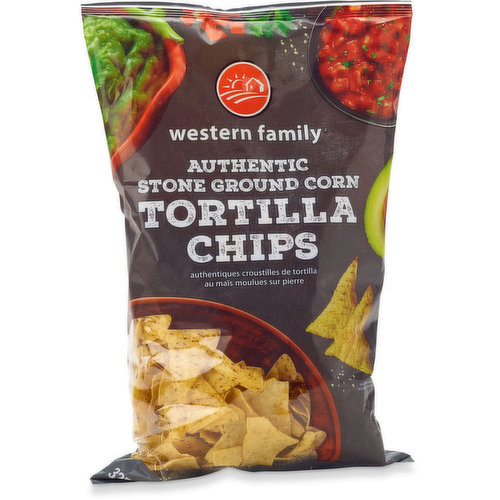 Authentic stone ground corn. Low in sodium, gluten free & no artificial colours or flavours.