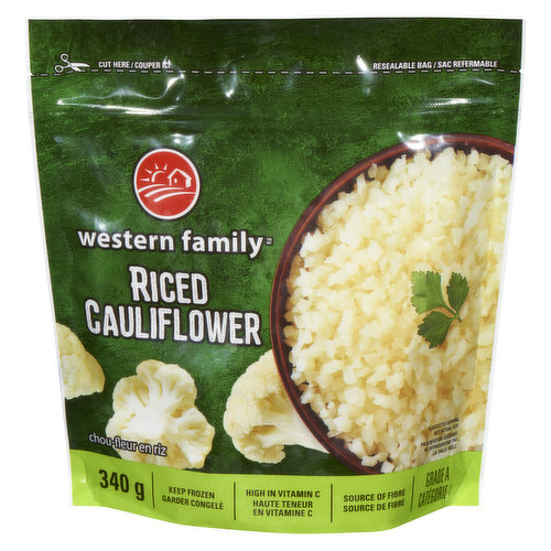 A low carb alternative to traditional rice.