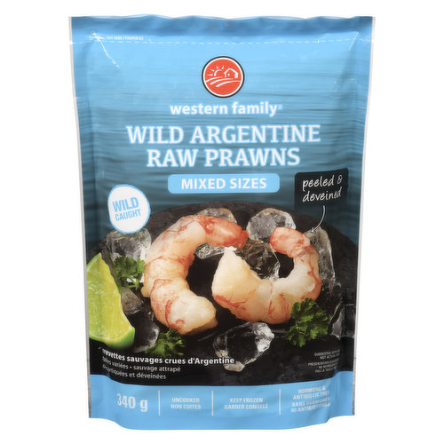 These sweet, buttery, and succulent prawns are wild caught, not farmed. The taste of Argentine prawns are sometimes compared to lobster. Extremely easy to prepare as the prep work has been done for you: they are already peeled and deveined. This sustainably sourced item from the South Atlantic is Ocean Wise recommended.<br /><br />