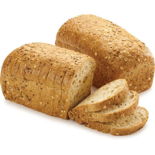 1 loaf of delicious filling multigrain bread.