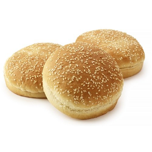 A summer classic, a deluxe white burger bun, pillowy soft and sprinkled sesame seeds. The perfect bun for your best burger.<br />