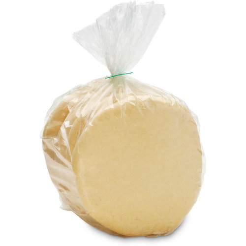 Baked in Store 4 Portions per pack (450g). Use with your favorite Greek dish or use as a personal size pizza.