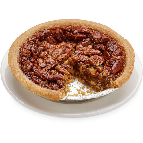 A buttery cake flour pie crust filled with a classic sweet pecan mix. 6in pie
