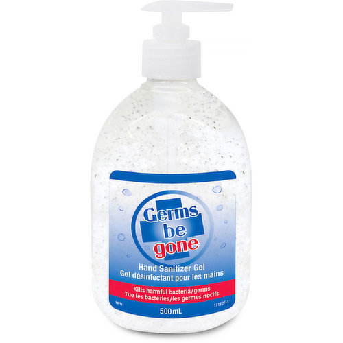 Quickly kills harmful bacteria/germs.