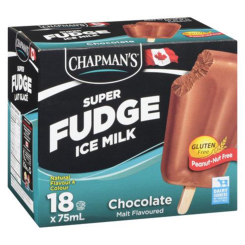 Frozen Low Fat, Gluten Free, Peanut-Nut Free18x75ml. Malt Flavoured Ice Milk.