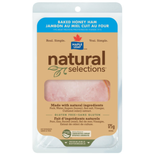 Ham with Natural Ingredients No Preservatives Added
