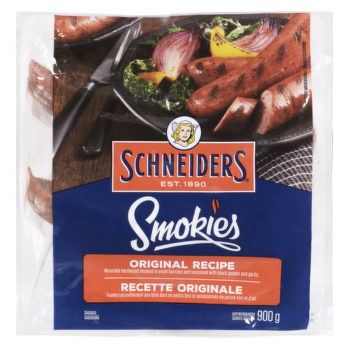Naturally Hardwood Smoked in Small Batches and Seasoned with Black Pepper and Garlic.