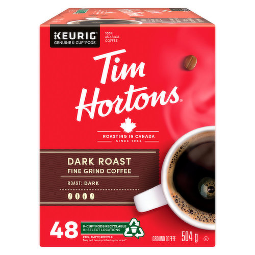 Roasted with care.. Made with 100% Arabica beans selected from the world's most renowned coffee growing regions. This premium blend of coffee is roasted with care to deliver a rich and full flavoured dark roast coffee, with a smooth finish.