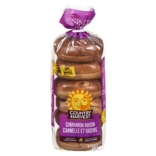 This favorite not only has the benefit of whole grains, it's also bursting with sweet raisins & a hint of cinnamon. Low in saturated fat, no trans fat. Source of Thiamine & Iron. No preservatives.