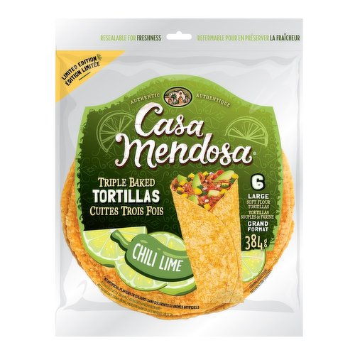 """Add some authentic Mexican flavour to the menu with a 10"""" Chipotle tortilla, just the right size for fajitas and wrap sandwiches. Available while quantities last."""