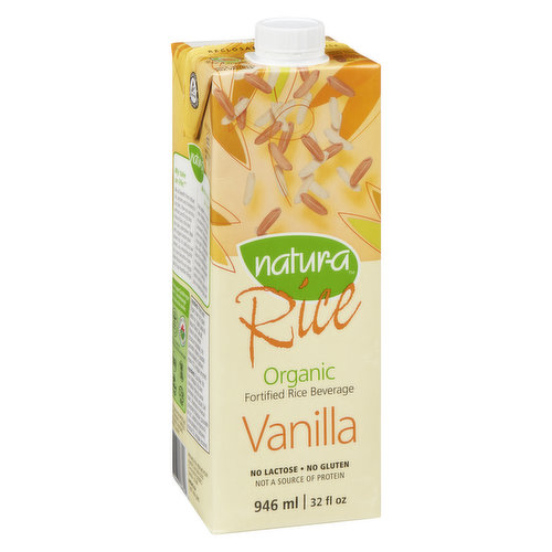Rich in Calcium. With Whole Brown Rice. No Sugar Added. Contains Vitamins A, D2, B2 & B12. Lactose Free.