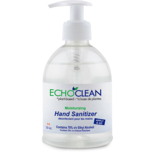 Apply & Go.Contains 70% Ethyl Alcohol.Moisturizing Gel Formula.Helps to kill bacteria and germs.