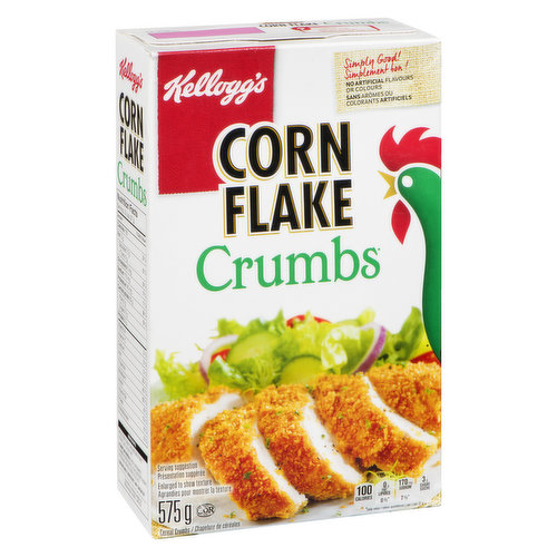 The All Purpose Coating Mix that Starts with the Original Flavour and Crispiness of Kellogg's Corn Flakes.