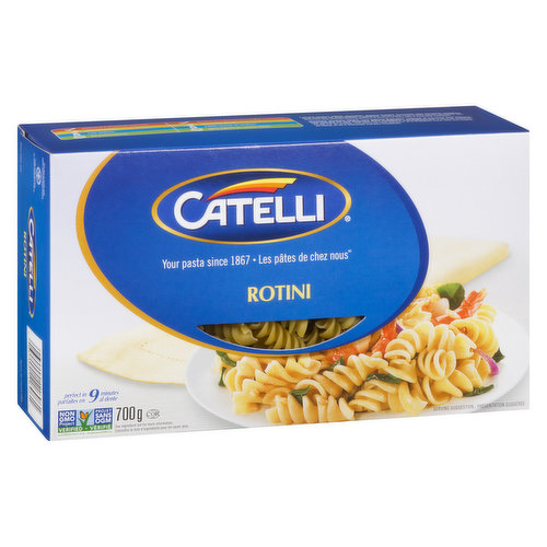 Delicious Taste Canadian Families have Loved Since 1867. A Top-Quality Durum Semolina Pasta.