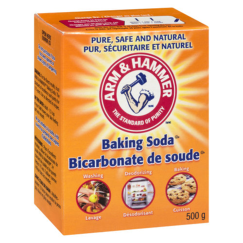 Pure Baking Soda. 100's of Uses.