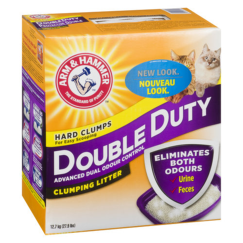 This litter uses moisture activated baking soda crystals and neutralizers to destroy both urine and feces odors on contact for a fresher smelling home.
