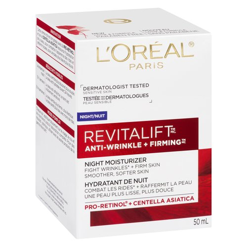 Smoother, Firmer Skin in 4 Weeks. Rejuvenates the Look of Skin Overnight. Dermatologist Tested.