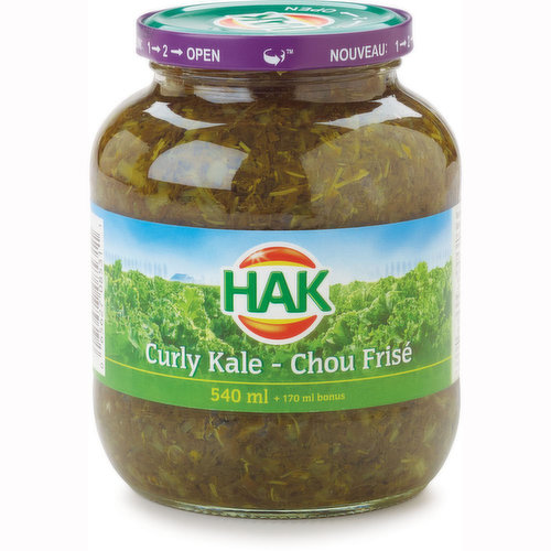 Kale is a delicious vegetable with many uses and is essential for an old-fashioned Dutch stew. Ingredients: Kale, water, salt.
