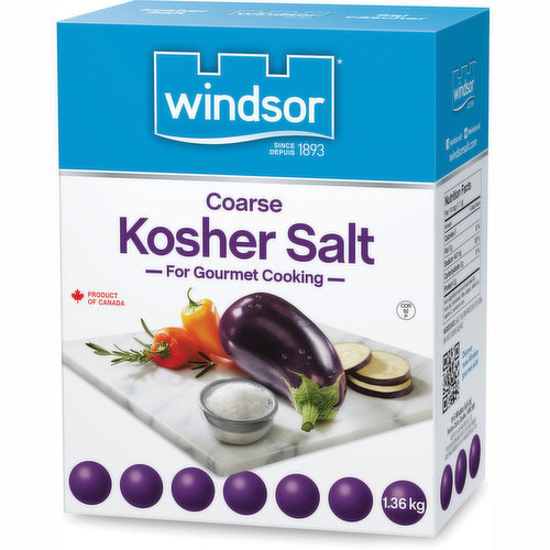 For Gourmet Cooking. Coarse Crystal Salt adds a Twist of Flavour and Texture to your Cooking.