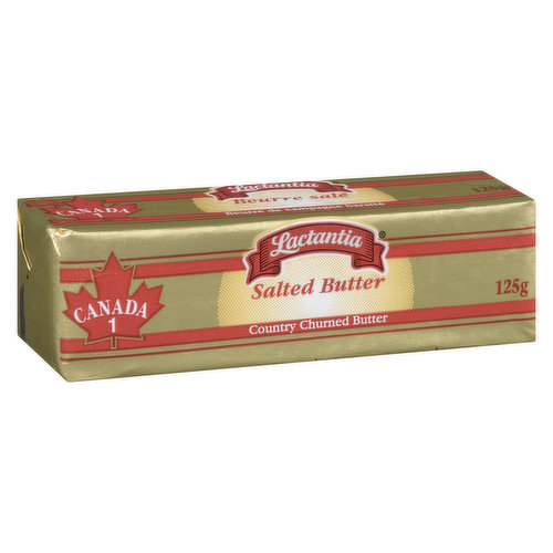Traditionally Made by Churning 100% Pure Pasteurized Cream.