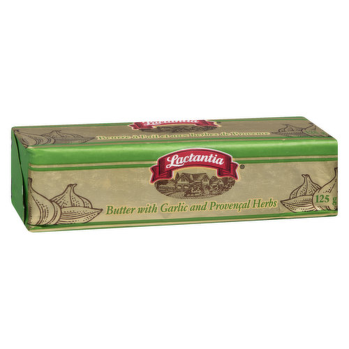 Flavoured Butter Stick Perfect for Garlic Bread or Adding Flavour to Pasta, Vegetables, Rice and Meat. Made with Pure 100% Cream.