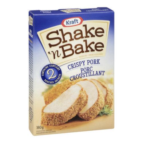 Shake'n Bake Coating Mix for Pork.