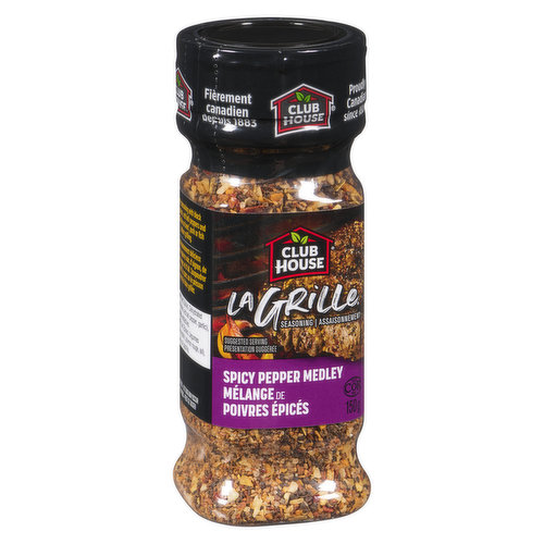 A Spicy Gourmet Blend of Cracked Peppers, Onions, Garlic, Red Bell Peppers and Seasoned Salt that Adds Zip and Zing to any Grilled Meats.