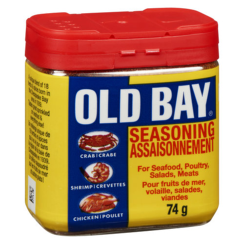 For Seafood, Poultry, Salads and Meats.