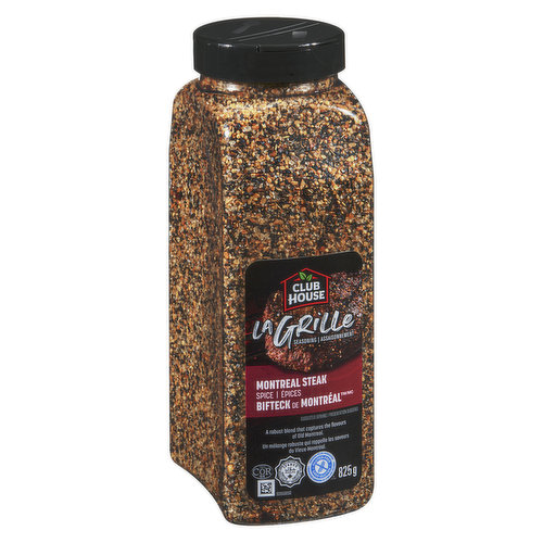 Capture the Flavour of Old Montreal with a Robust Blend of Spices and Seasonings. Shake on your Favourite Beef Dishes Before Grilling.