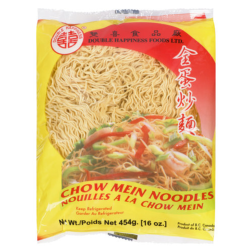 Keep refrigerated. Product of B.C. Canada. Ingredients: Wheat Flour, Liquid Whole Egg Water, Potassium Carbonate