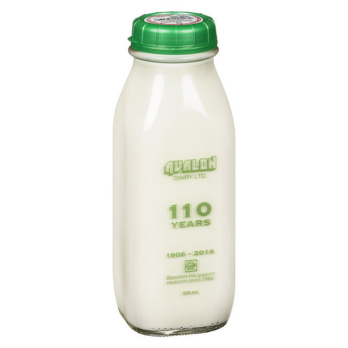 Avalon milk, BC's oldest local dairy, delivers their milk in re-useable glass bottles that may be cleaned and then returned for a refundable $1.00 deposit.