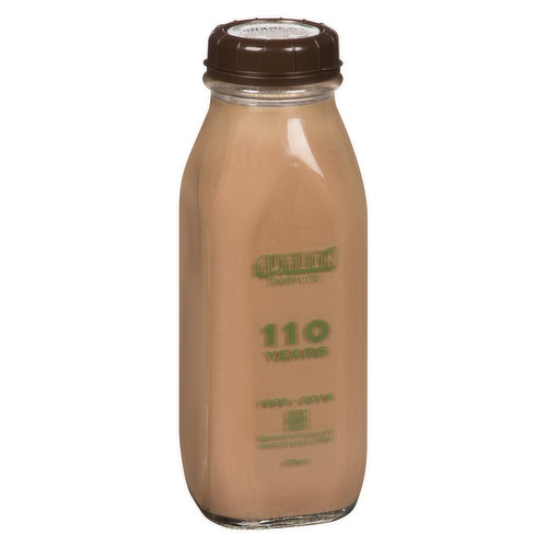 Glass Bottle. Real. Belgian. Cocoa.  Avalons Chocolate Milk is the real deal, and its packed with the excellent nutrients of calcium and vitamin D.