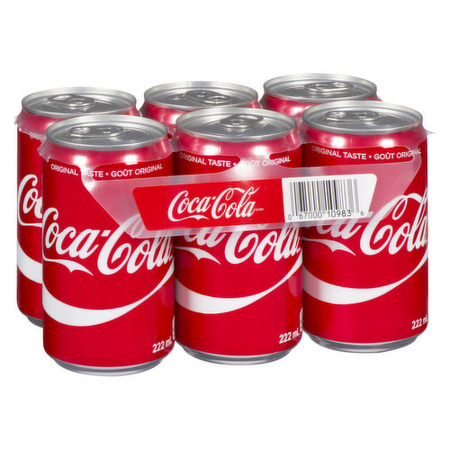 6x222 ml Cans
