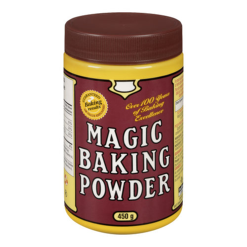 Used for Increasing the Volume and Lightening the Texture of Baked Goods.