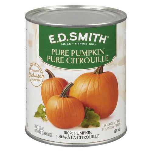 100% Pure Pumpkin. Fancy Grade