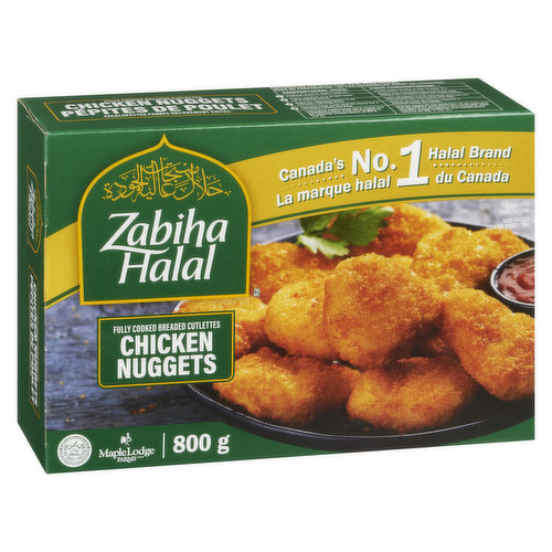 These nuggets are an excellent treat for the young & the young at heart! Made with all chicken breast meat, they go great with all your favourite dips & condiments  dont be afraid to experiment!